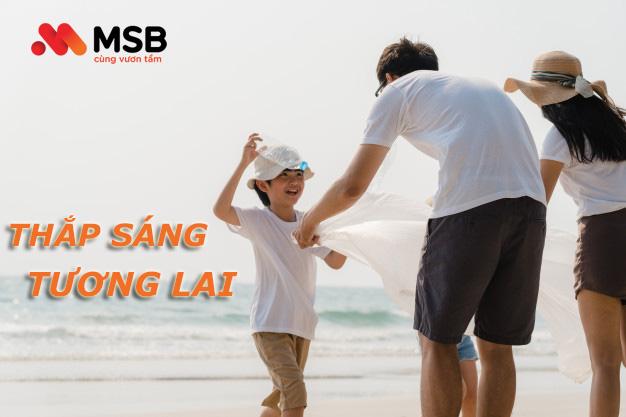 Hướng dẫn vay tiền MSB trực tuyến