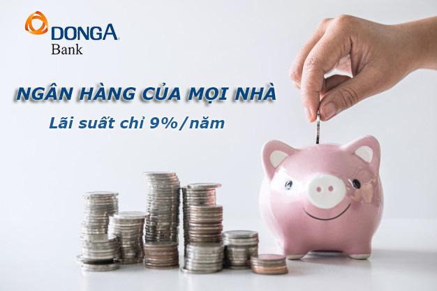 Hướng dẫn vay tiền ngân hàng Đông Á đơn giản